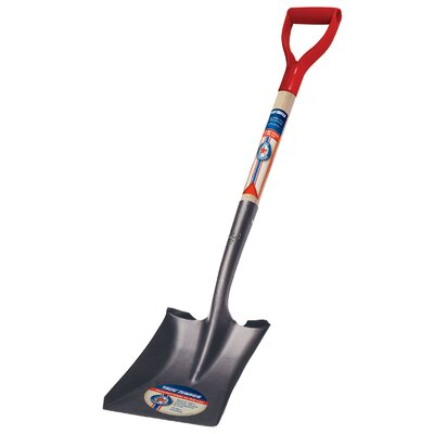 Ames Square Point True American® D Shaped Wood Handle Shovel