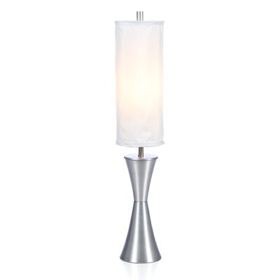 "Adesso Geneva 38"" H Table Lamp with Drum Shade"
