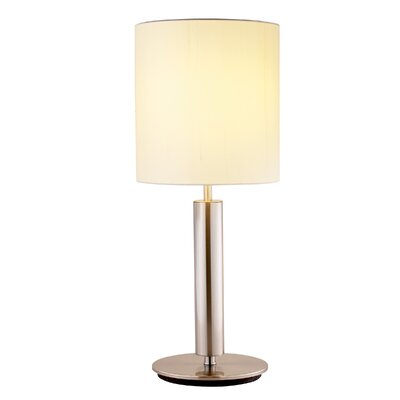 "Adesso Hollywood 27"" H Table Lamp with Drum Shade"