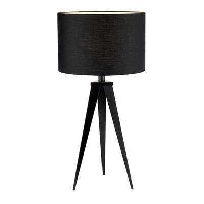 "Adesso Director 28"" Table Lamp with Drum Shade"