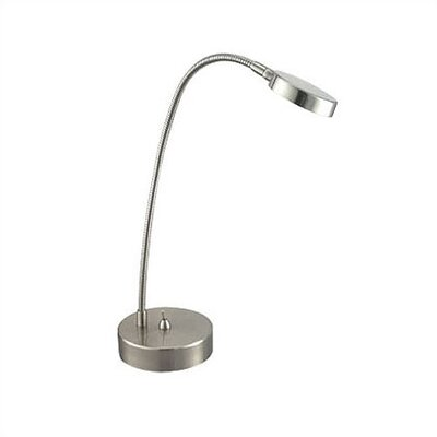 "Adesso Eternity Flat Head 17"" Adjustable Table Lamp"