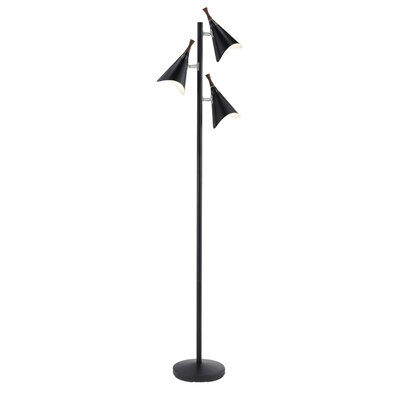 Adesso Draper 3 Light Tree Floor Lamp