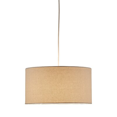 Adesso Harvest 1 Light Drum Pendant