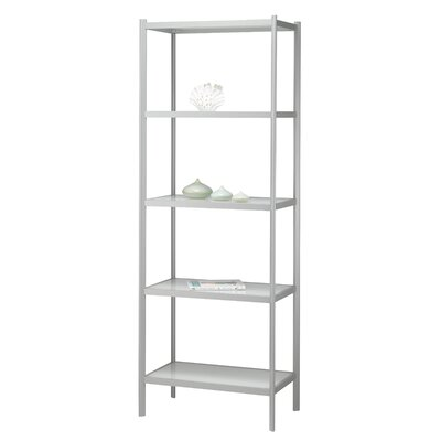 "Adesso Aspen 65.5"" H 5 Shelf Shelving Unit"