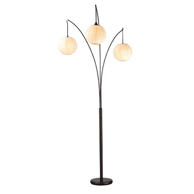 Ore Four Arm Arch Floor Lamp With Base Amp Reviews Wayfair