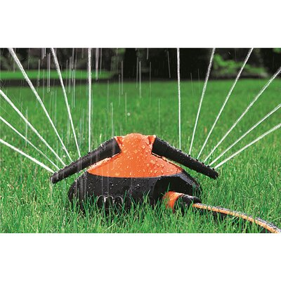 Claber 1,905-sq. ft Spray Sled Sprinkler
