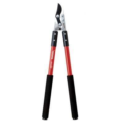 "Corona Quality Tools 24"" Compound Action Bypass Loppers with Fiberglass Handle"