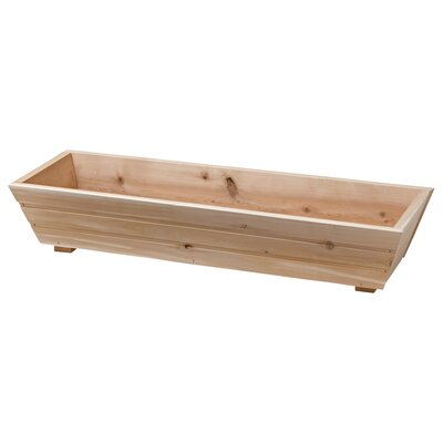 DMC USA Cedar Planter Flared Window Box