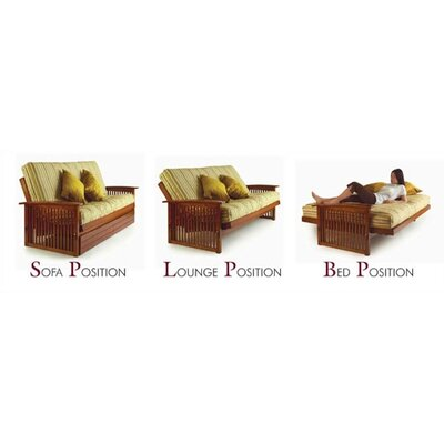 LifeStyle Solutions Dio Convertible Futon