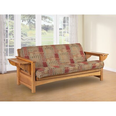 LifeStyle Solutions Townsend Wood Futon Frame