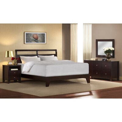LifeStyle Solutions Signature Dominique 4 Piece Platform Bedroom Collection