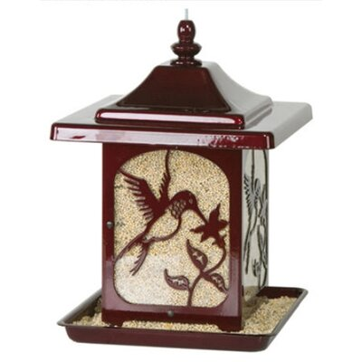 Jolly Pop Red Hummingbird Design Bird Feeder