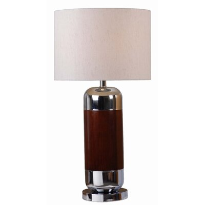 """Wildon Home ® Ike 29.5"""" H Table Lamp with Drum Shade"""