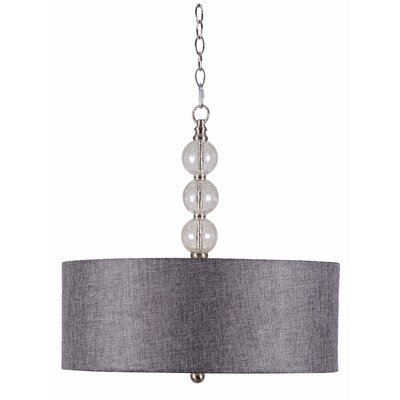Wildon Home ® Aubrey 3 Light Drum Pendant