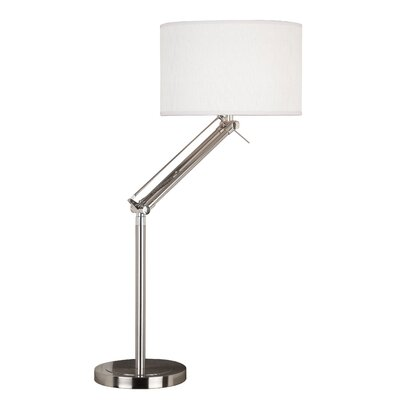 Wildon Home ® Hydra Table Lamp with Drum Shade