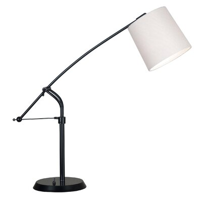 Wildon Home ® Reeler Table Lamp with Empire Shade