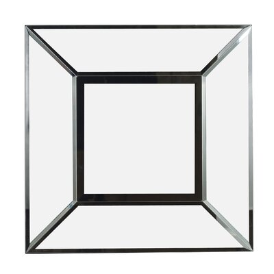 Kenroy Home Cubic Wall Mirror in Black