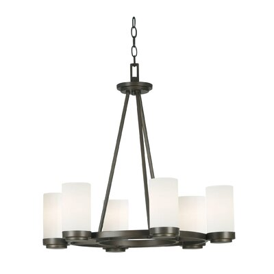Kenroy Home Toronto 6 Light Chandelier