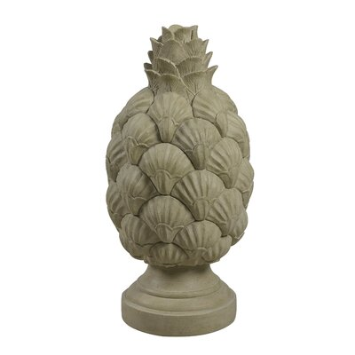 Kenroy Home Shell Finial Statue