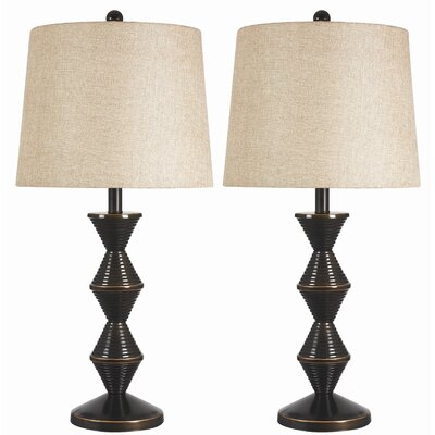 Kenroy Home Topsy Table Lamp (Set of 2)