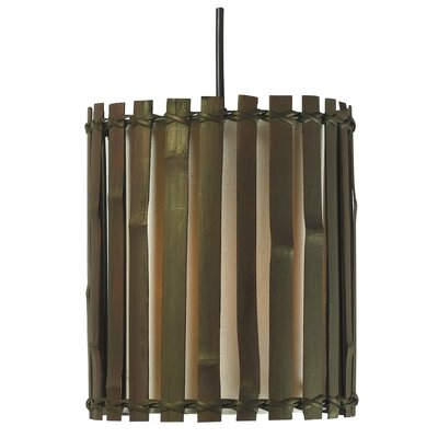 Kenroy Home Grove 1 Light Mini Pendant