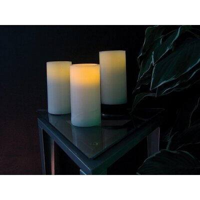 Wildon Home ® Battery LED Pillar Candle (Set of 3)