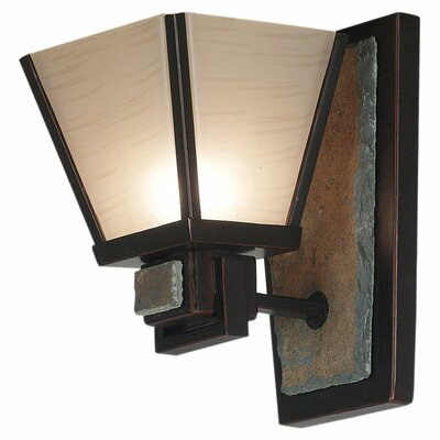 Kenroy Home Clean Slate 1 Light Wall Sconce