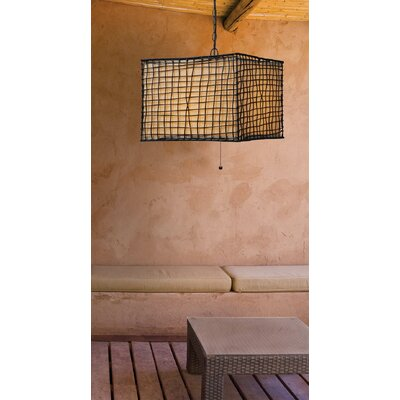 Wildon Home ® Blossom 1 Light Outdoor Pendant