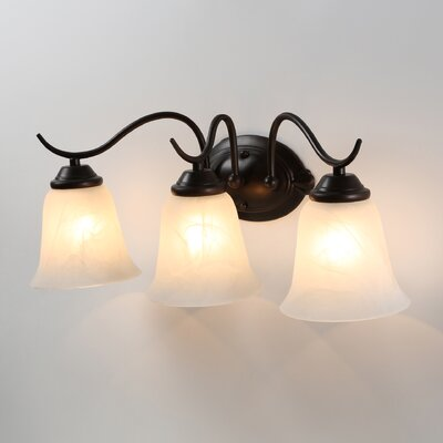 <strong>Kenroy Home</strong> Medusa 3 Light Vanity Light