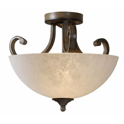 Terrain 2 Light Semi-Flush Mount