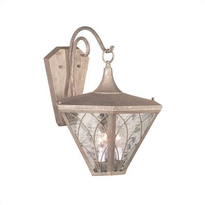 "Kenroy Home Atwood 19""  Wall Lantern in Patina"