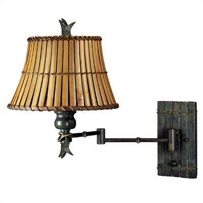 Kenroy Home Kwai Swing Arm Wall Lamp