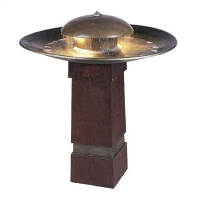 Kenroy Home Copper Portland Sound Floor Fountain