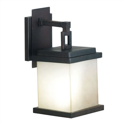 Kenroy Home Plateau  Outdoor Medium Wall Lantern in Oil Rubbed Bronze