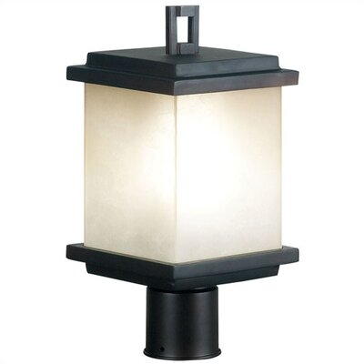 Kenroy Home Plateau  Outdoor Post Lantern in Oil Rubbed Bronze