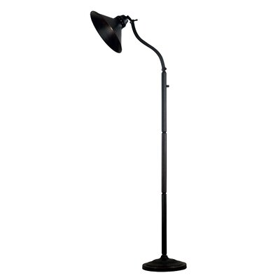 Kenroy Home Amherst Adjustable Floor Lamp in Oil Rubbed Bronze Finish
