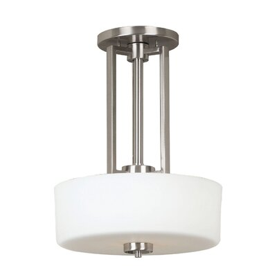 Kenroy Home Encounters 2 Light Convertible Drum Pendant