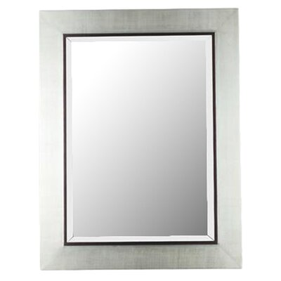 <strong>Kenroy Home</strong> Dolores Rectangular Wall Mirror in Silver