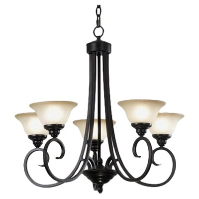 Welles 5 Light Chandelier