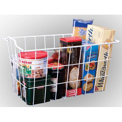 Vinyl Coated Wire Storage Basket