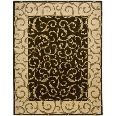 Versaille Palace Chocolate Rug