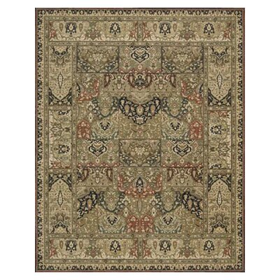 Nourison Living Treasures Khaki Rug