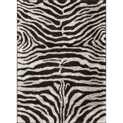 Splendor Black White Rug