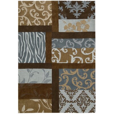 Contour Blue/Brown Rug