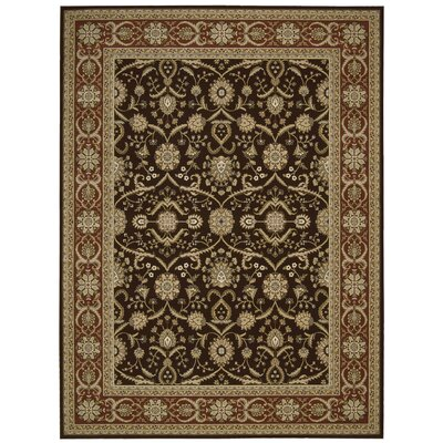 Persian Crown Dark Brown Rug