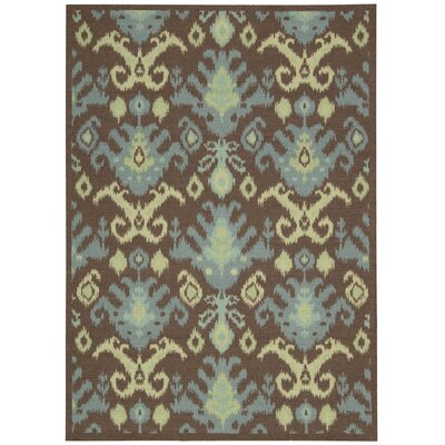 Nourison Vista Chocolate Rug