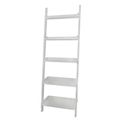 International Concepts Casual Dining 5 - Tier Leaning Shelf in White