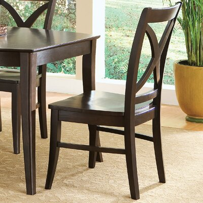 International Concepts Cosmopolitan Salerno Side Chair (Set of 2)