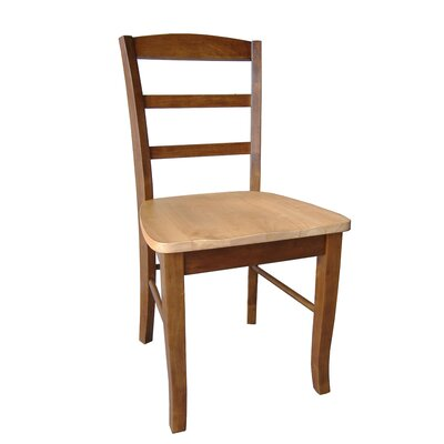 International Concepts Madrid Ladderback Side Chair (Set of 2)
