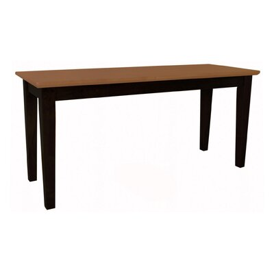 International Concepts Shaker Wood Bench